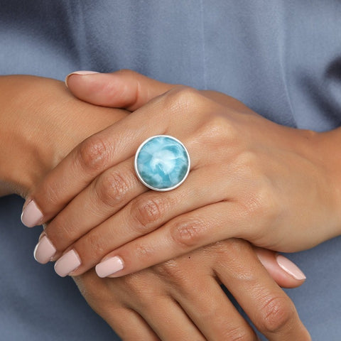 Larimar Ring, Margot