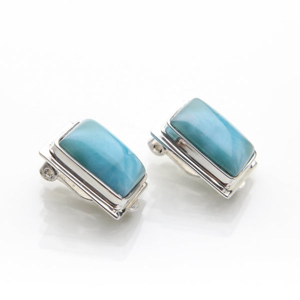 Larimar Earrings, Aisha