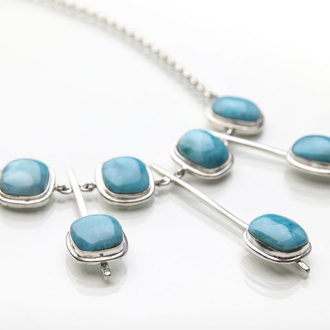 Larimar Necklace, Claire