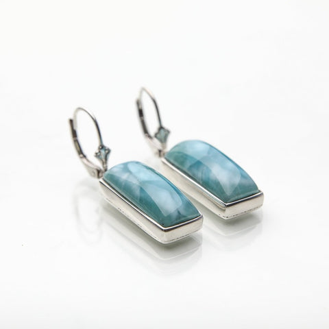 Larimar Earrings, Dua