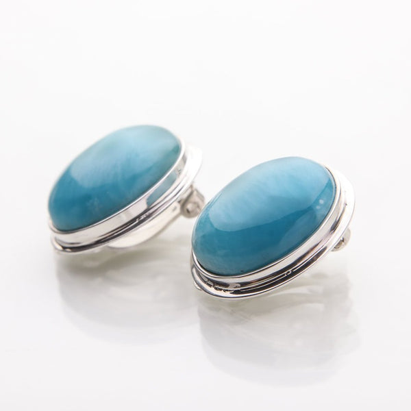 Larimar Earrings, Ciara