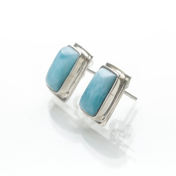 Larimar Earrings, Christine
