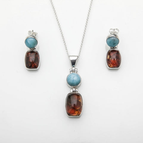 Larimar and Amber Set, Giselle