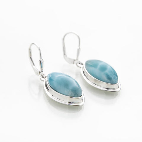 Larimar Dangle Earrings, Valeria