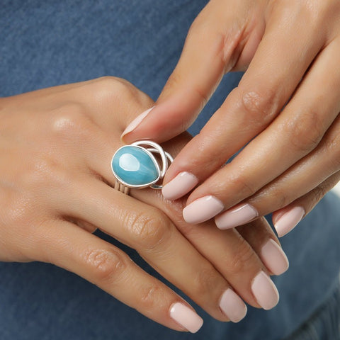 Larimar Ring, Jimma