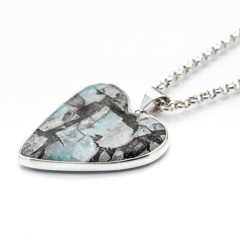 Larimar Hear Pendant, Britto