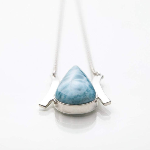 Larimar Necklace, Rowan