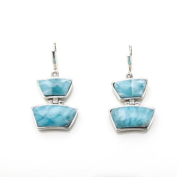 Larimar Earrings, Royu