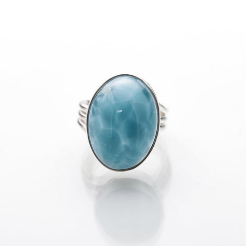 Larimar Statement Ring, Nyko