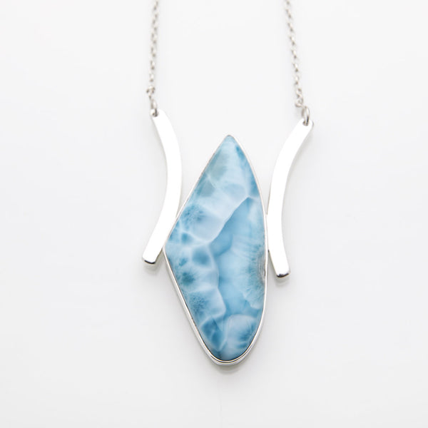 Larimar Necklace, Romie