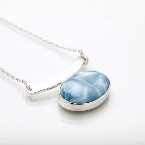 Larimar Necklace, Davy