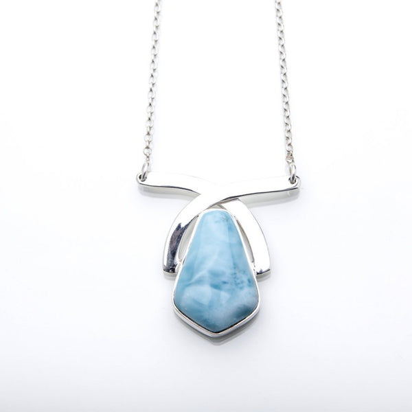 Larimar Necklace, Iona