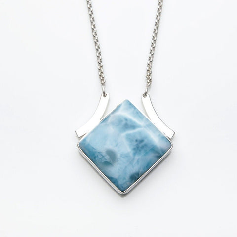 Larimar Necklace, Briar