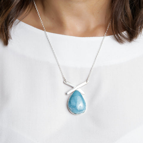Larimar Necklace, Veridian