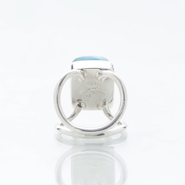 Blue Larimar Ring, Pascale