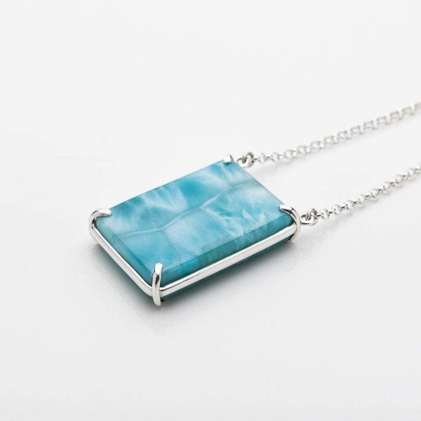 Larimar Stone Necklace, Nathalie