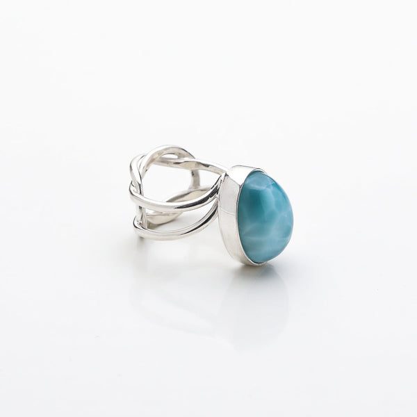 Larimar Oval Ring, Paloma