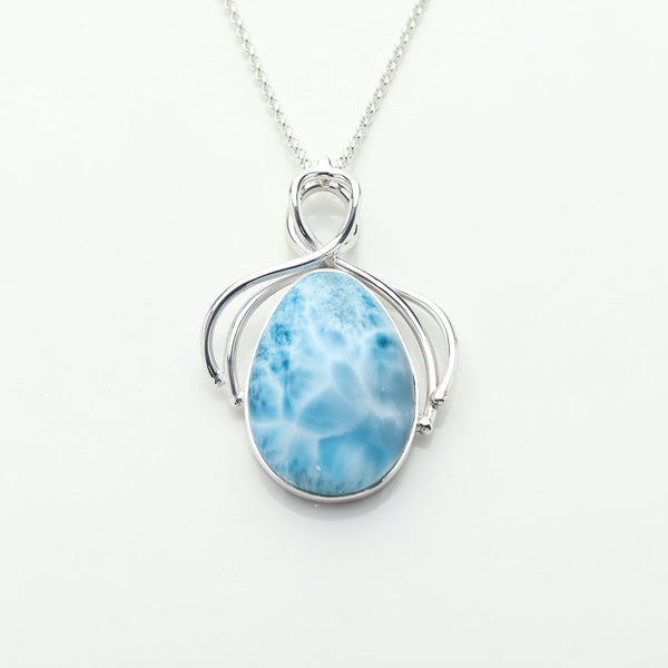 Statement Larimar Pendant, Bartlett