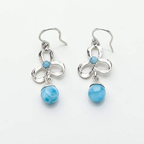 Larimar Earrings, Iamdra XXS