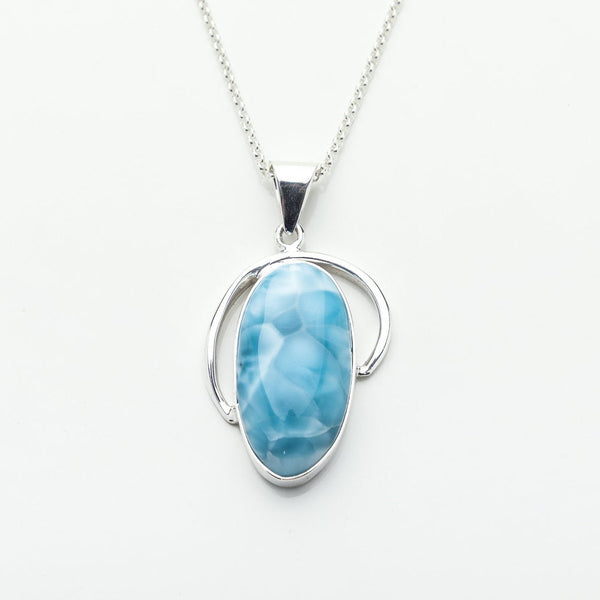 Larimar Pendant, Hallie by The Larimar Shop