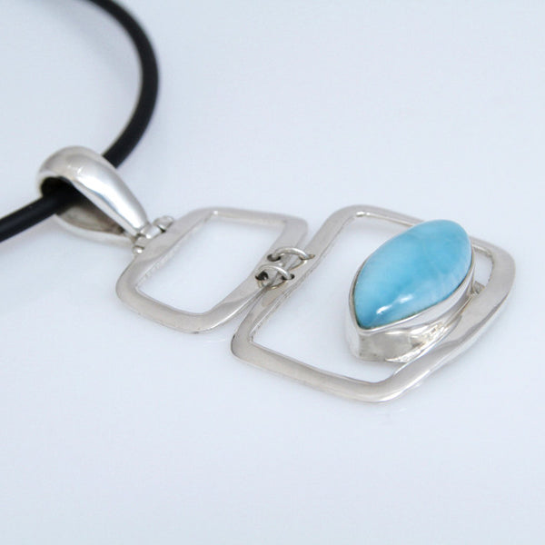 Larimar Pendant, MENA Collection