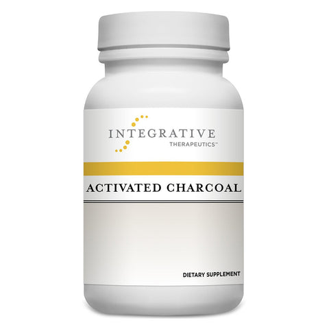 Activated Charcoal, 100 Caps - Dr. Lauren Deville
