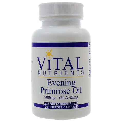 Evening Primrose Oil 500 mg, 100 Gels - Dr. Lauren Deville