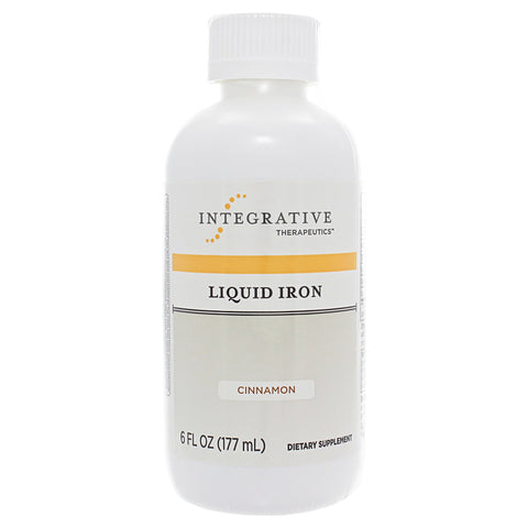 Liquid Iron Apple Cinnamon Flavor, 6 oz