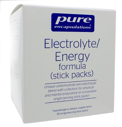 Pure Encapsulations Electrolyte/Energy Formula (stick packs)