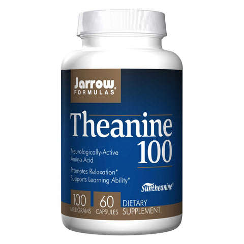 Theanine 100 mg, 60 Caps - Dr. Lauren Deville