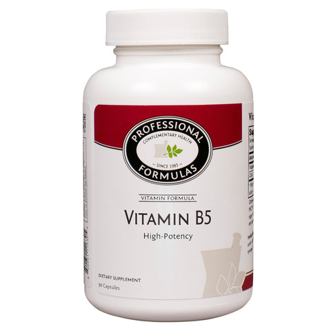 Professional Formulas Vitamin B5 Pantothenic Acid, 500 mg