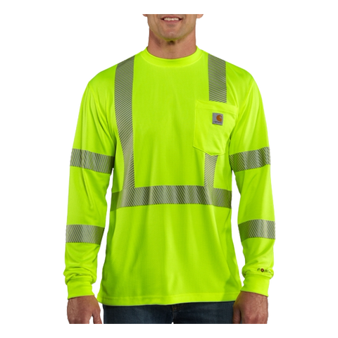 Carhartt Force® High-Visibility Long-Sleeve Class 3 T-Shirt - 100496