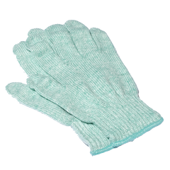 100% Recycled String Knit Green Glove - P4-1200