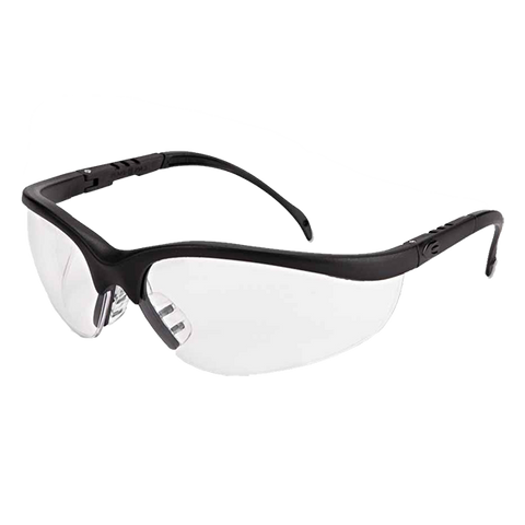 Crews Klondike Matte Black Frame Clear Lens or Anti-fog Lens - KD110
