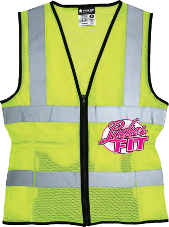 Hi-Visibility Safety Vest LVCL2ML