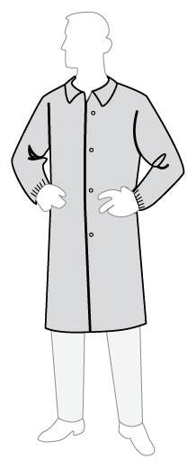 Polygard™ medium weight lab coat