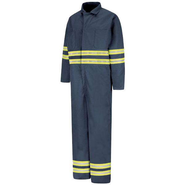 Red Kap Enhanced Visibility Action Back Coverall - CT10EN
