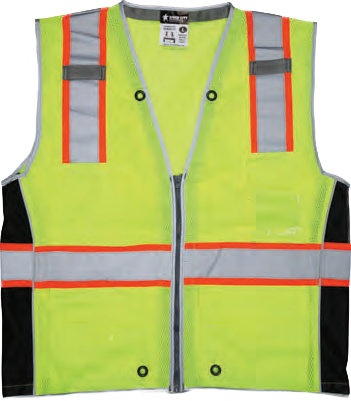 Hi-Visibility Safety Vest SURVCL2L