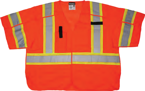 Hi-Visibility Safety Vest SURVCL3O
