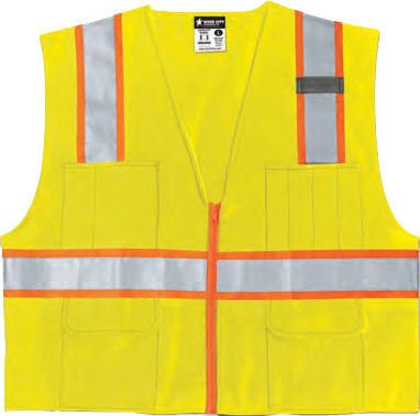 Hi-Visibility Safety Vest SURVL