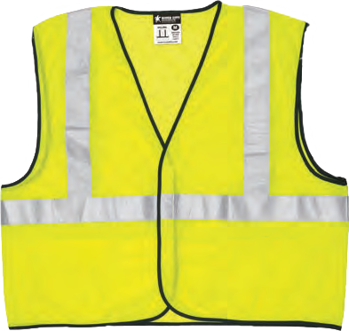 Hi-Visibility Safety Vest VCL2ML