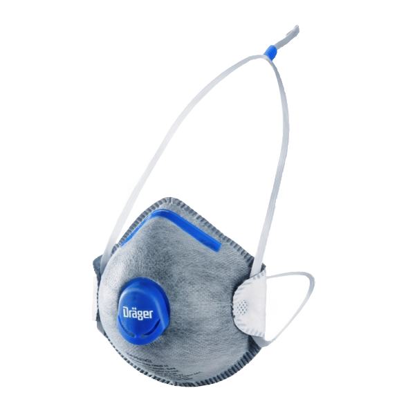 Drager X-plore 1350 N95 Respirator w/ Odor Valve - DR-3951359