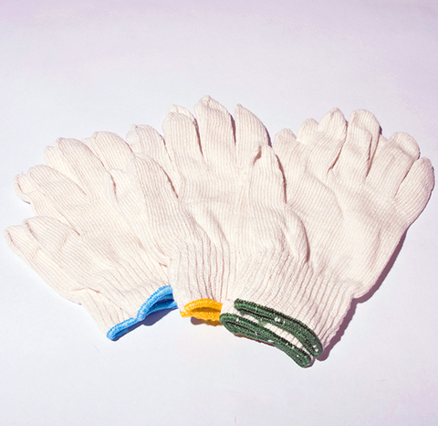 Cotton/Poly Medium Weight Hi-Performance Knit Glove - P4-1100