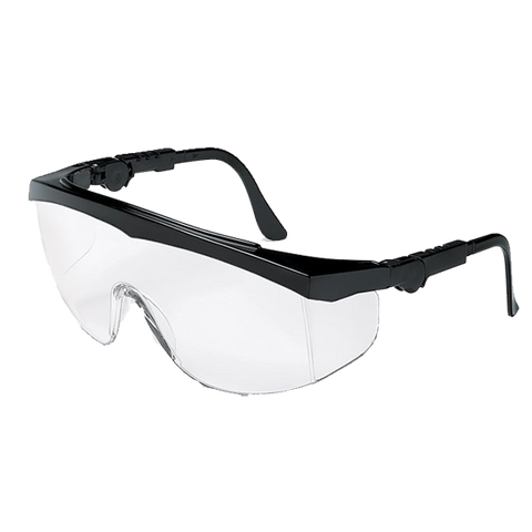 Crews Tomahawk Black Frame Clear Lens Or Anti-fog - TK110