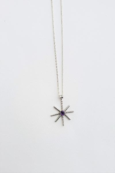 Star Burst - Amethyst