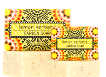 Lemon verbena garden soap