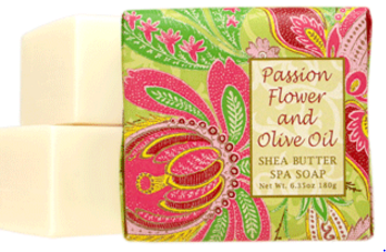 Passion Flower and olive oil Soap