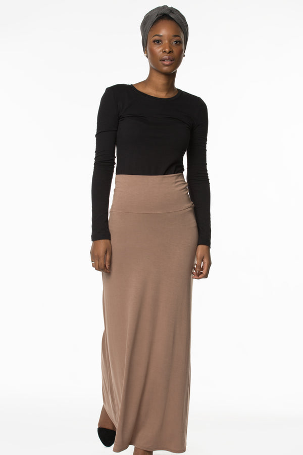 Essential Skirt Camel