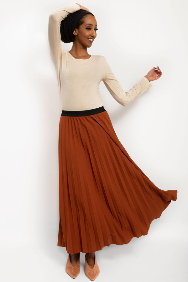 Isil Skirt Rust