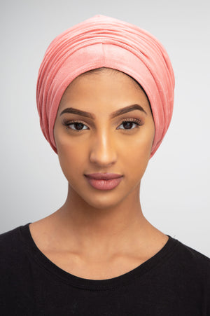 Rose SUEDE Turban